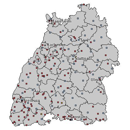 Pforzheim Karte.Wetterstation Pforzheim Messwerte